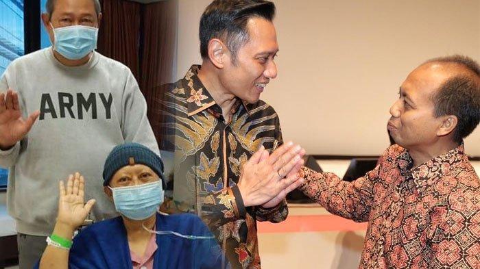 AHY Kenang Sutopo Purwo Nugroho, saat Ani Yudhoyono Sakit Kanker, Sutopo Bisiki Hal Ini ke Putra SBY