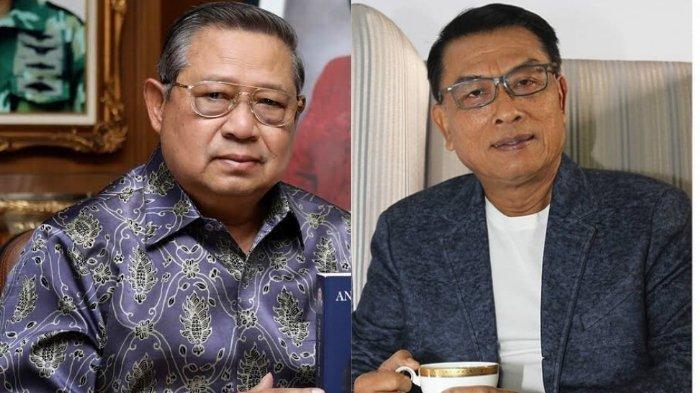 Foto Masa Lalu SBY Saat Masih Kolonel, Moeldoko Saat Masih Mayor, Sosok Jenderal Ini Curi Perhatian