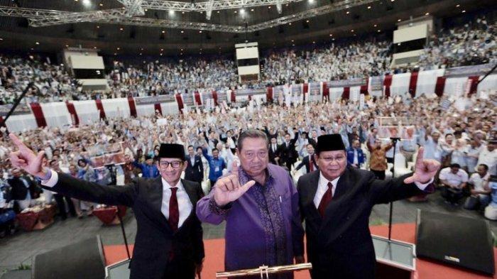 Beda Hasil Real Count KPU dengan Klaim Data Kemenangan 62 Persen Prabowo, Demokrat Sebut Angka Sesat