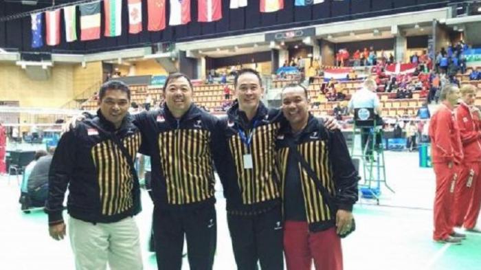Mantan Bintang Hastomo Arbi Juarai Kejuaraan Dunia Veteran Bulutangkis