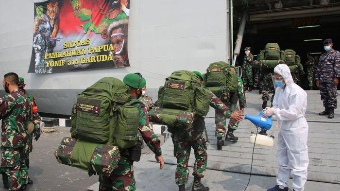 Tiba di Merauke, Pasukan Setan Siap Menghadapi KKB di Papua