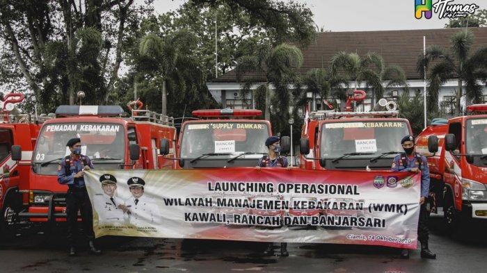 Antisipasi Kebakaran Pemkab Ciamis Sebar 6 Mobil Damkar ke 3 Titik Siaga, Jangan Sampai Disindir