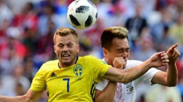 Hasil Laga Korea Selatan Vs Swedia - Gol Semata Wayang Granqvist Taklukkan Ksatria Taeguk