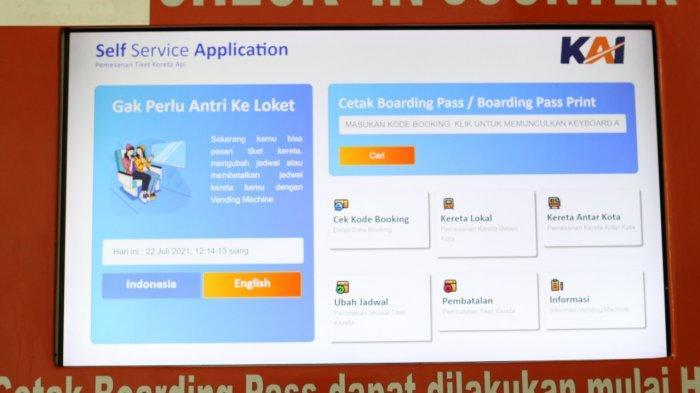 Ini Sederet Fungsi Vending Machine SSA, Fasilitas Terbaru di Stasiun Cirebon