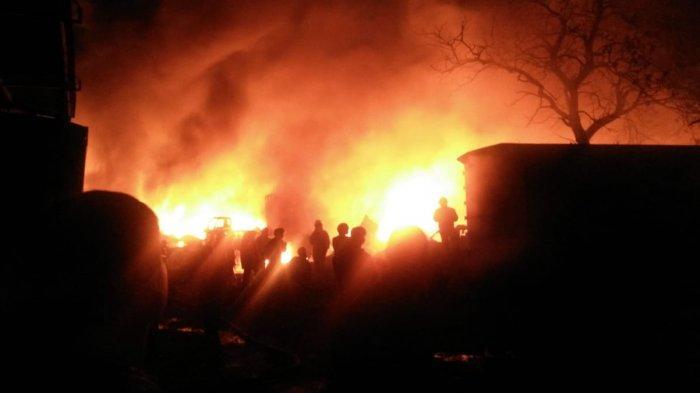 Rumah Kosong Dalam Pengawasan Bank, Terbakar di Wilayah Kiaracondong Bandung