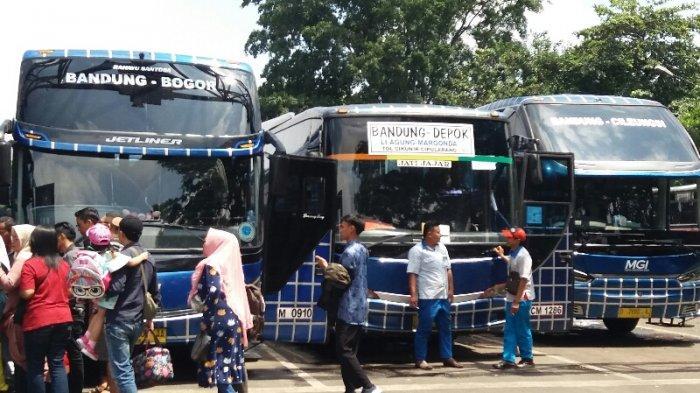 Banjir Jakarta, Jadwal Keberangkatan Bus Terminal Leuwipanjang Terganggu, Penumpang Menunggu Lama
