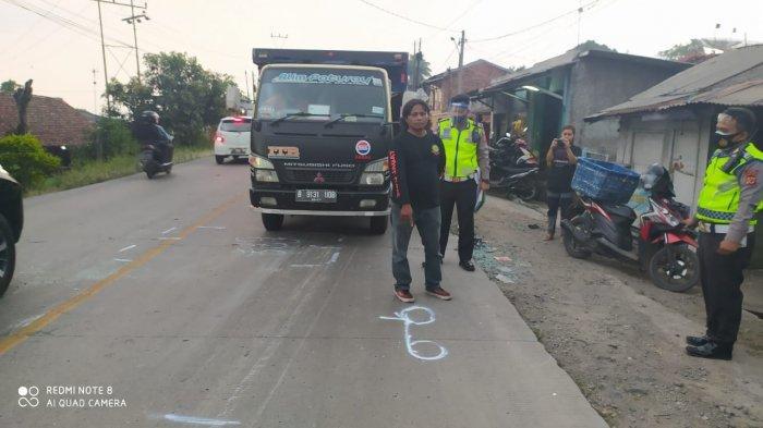 Truk Fuso Tabrak Enam Sepeda Motor di Sukabumi, Satu Orang Tewas saat Dibawa ke Rumah Sakit