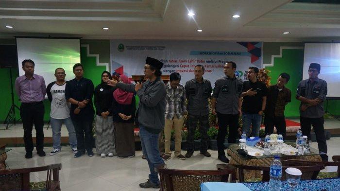 Empat Workshop Digelar Jabar Quick Response, Total Relawan yang Tergabung Sudah 240 Orang