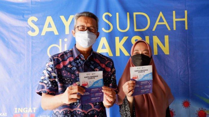 Jalani Vaksinasi Covid-19 Ini yang Dirasakan Sekda Kota Cirebon Saat dan Setelah Disuntik