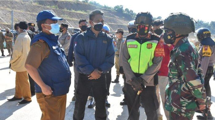 Sekda Hadiri Eksekusi Pengosongan Tanah dan Bangunan untuk Tol Cisumdawu
