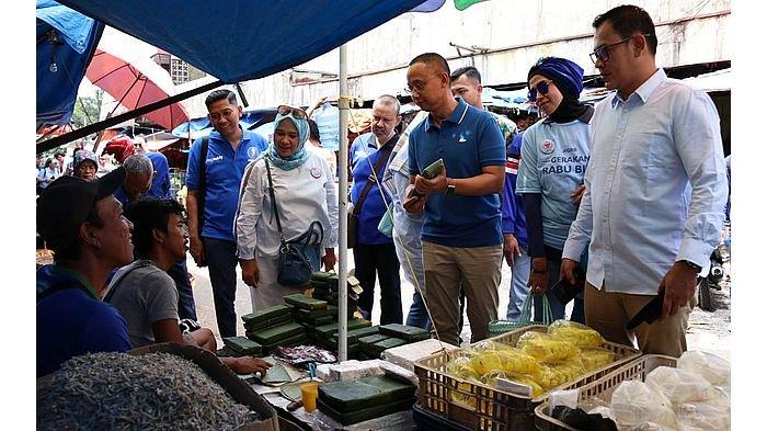Pro Pedagang Kecil, Eddy Soeparno Tuai Dukungan Pedagang Pasar Tradisional Bogor