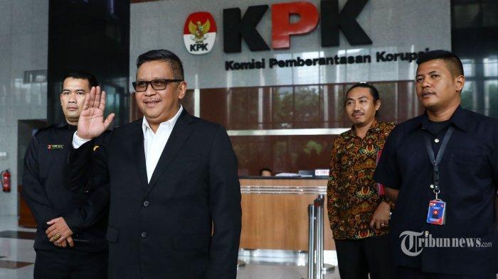 Sekjen PDI Perjuangan Hasto Kristiyanto Kembali Diperiksa KPK Hari Ini