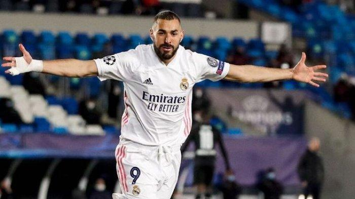 Striker Real Madrid Karim Benzema Jadi Monster Menakutkan bagi Valencia di Liga Spanyol