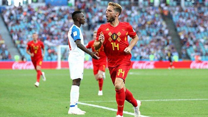 Tendangan Voli Dries Mertens Pecah Kebuntuan Laga Belgia vs Panama