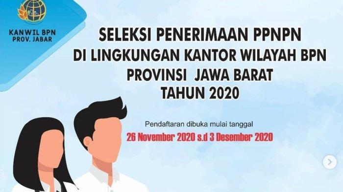 KABAR GEMBIRA, Lowongan Kerja di Kanwil BPN Jawa Barat untuk Lulusan SMA/SMK-S1, Cek Daftar di Sini