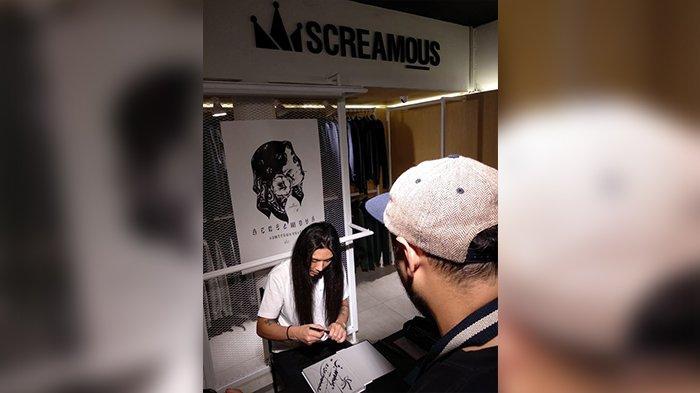Hadirkan Inovasi Baru di Bidang Fesyen di Bandung, Screamous Gaet Seniman Asal Jepang