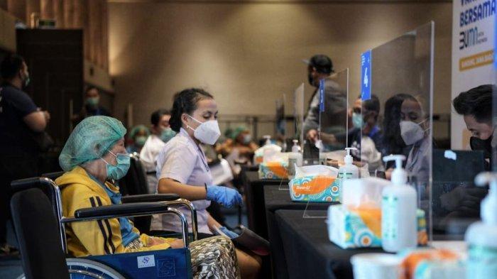 Jadi Pilot Project, Sentra Vaksinasi Covid-19 di Bandung Targetkan 5.000 Penyuntikan Tiap Hari
