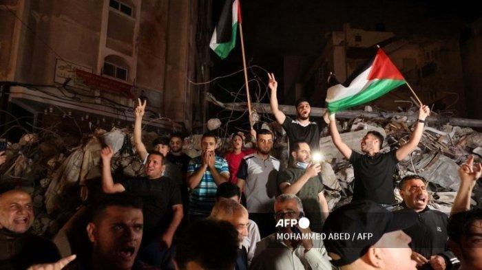 Kondisi di Palestina Usai Gencatan Senjata, Israel Serang Warga yang Salat Jumat di Masjid Al Aqsa