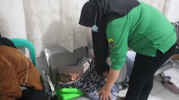 PSK di Cianjur Menangis Histeris sambil Telentang di Kursi Kantor Satpol PP Cianjur, Malu Tertangkap