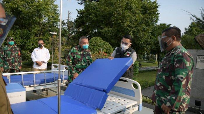 Beri 70 Tempat Tidur ke Dustira, Emil Titip Warga yang Isoman ke TNI, 90 Warga Meninggal Saat Isoman