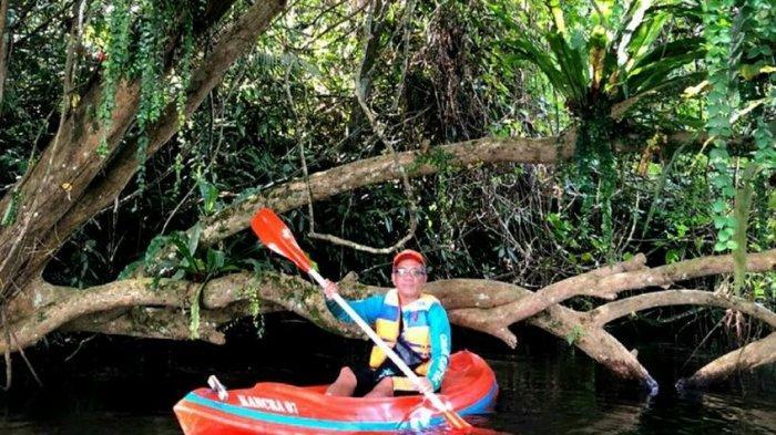 Serasa di Hutan Amazon, Main Kayak di Situ Panjalu Kabupaten Ciamis