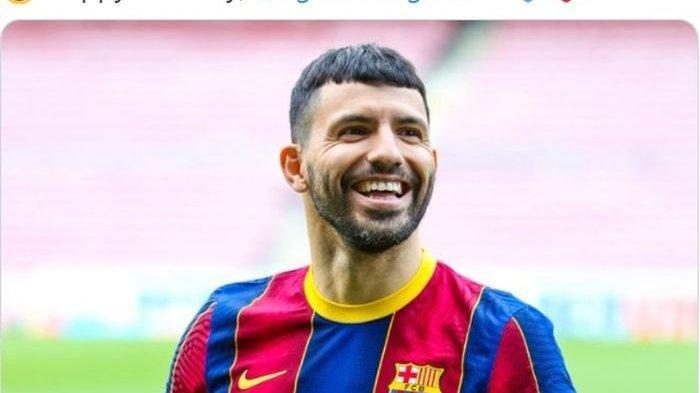 Ini Alasan Sergio Aguero Tolak Pakai Nomor 10 di Barcelona, Sempat Bandingkan dengan Manchester City