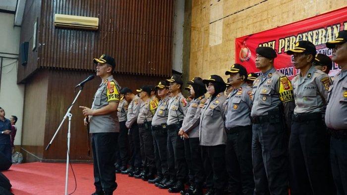 Polrestabes Bandung Pakai Pola Pengamanan 12 24 Amankan Pencoblosan, Ada 11 TPS Rawan