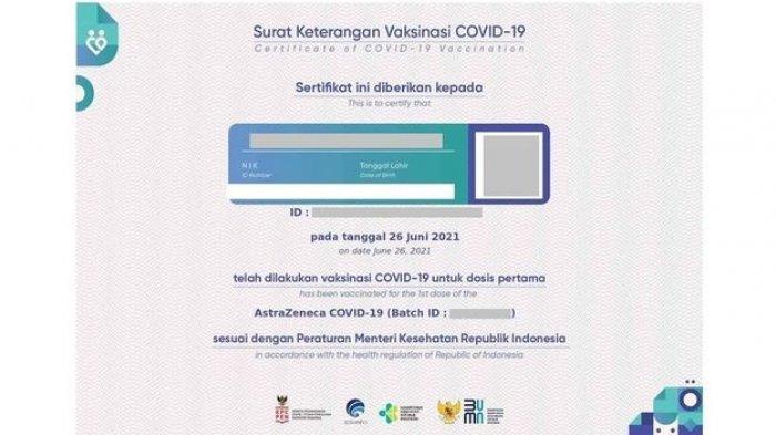 Mau Unduh Sertifikat Vaksin Covid-19? Begini Caranya, Akses di Laman PeduliLindungi.id