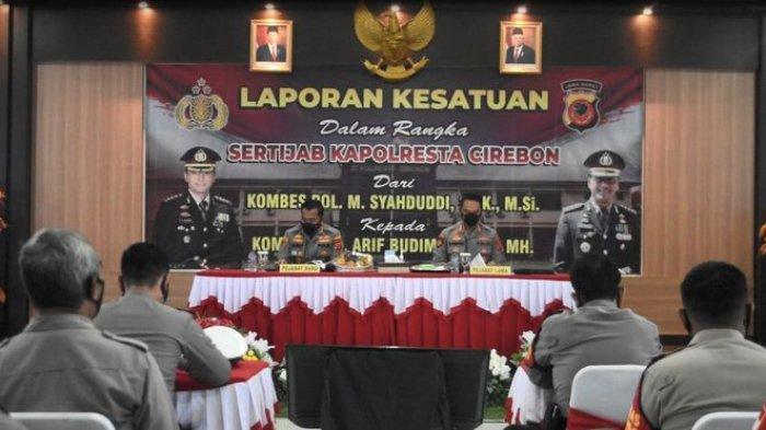 Kombes Arif Budiman Jadi Kapolresta Cirebon, Kombes M Syahduddi: Selama Menjabat Aman dan Kondusif