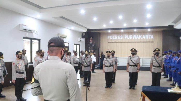 Empat Pejabat Polres Purwakarta Dimutasi, Satuan Reserse Narkoba Punya Kasat Baru