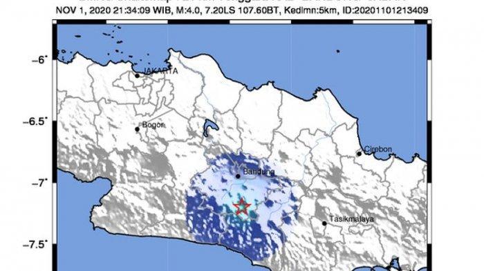 Mengenal Sesar Garsela, Pernah Picu Gempa Bandung dan Garut, Ternyata Sesar Paling Aktif di Jabar