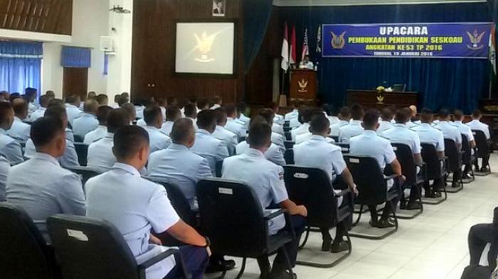 Lima Perwira Menengah Asing Ikuti Pendidikan di Sesko AU