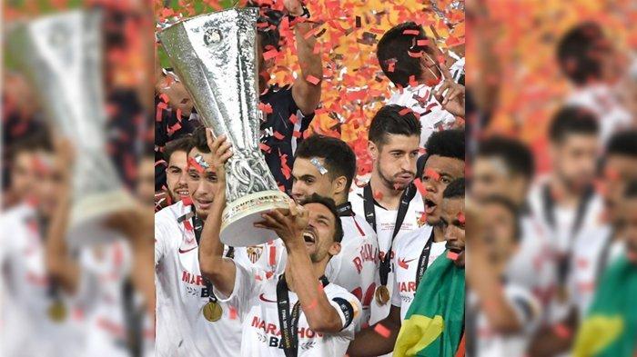 Inter Milan Gagal Bendung Sevilla Jadi Juara Liga Eropa, Kalah 2-3 di Babak Final