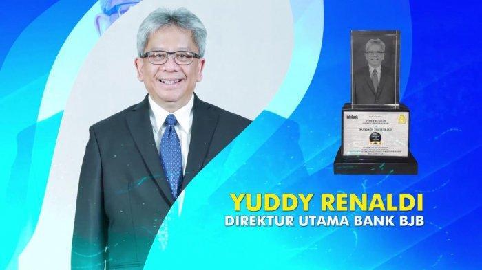 Dirut bank bjb Yuddy Renaldi Dianugerahi Gelar Bankers of The Year 2020