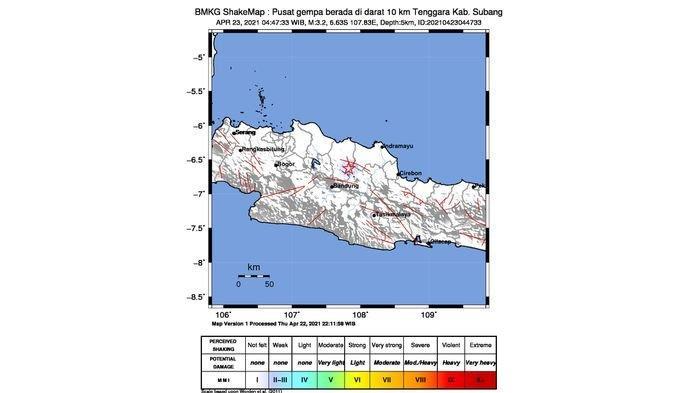 Gempa Subang Kecil, Warga Purwakarta Tak Rasakan Apa-apa Saat Terjadi Pada Tadi Pagi