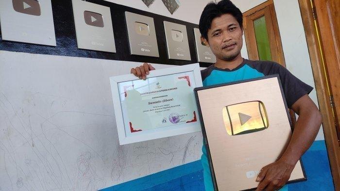 Sosok Siboen Youtuber Sukses Asal Banyumas, Dulu Cari Rongsok Kini Berpenghasilan 150 Juta Per Bulan