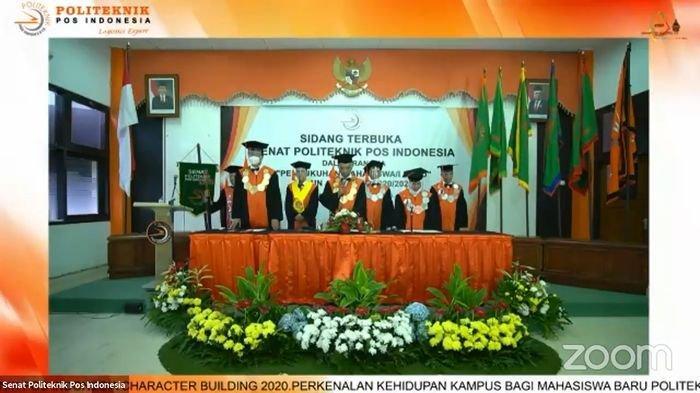Politeknik Pos Indonesia Kukuhkan 651 Mahasiswa Baru Tahun Akademik 2020/2021 Secara Daring