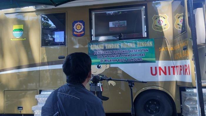 Selama PPKM Darurat di Kota Bandung, Ratusan Orang Divonis Denda, yang Bayar Baru 36 Orang