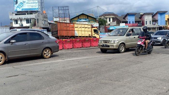 Meski Ada Penutupan Jalur di Kabupaten Bandung, Lalu Lintas di Nagreg dan Ciwideuy Ramai