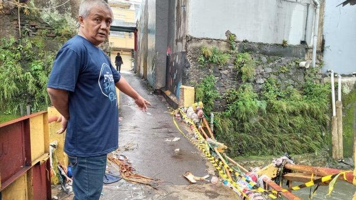 Kawasan Cibadak Kota Bandung Banjir Lagi Sore Ini, Warga Sudah Bosan Mengeluh, Tuding Gegara Tol Air