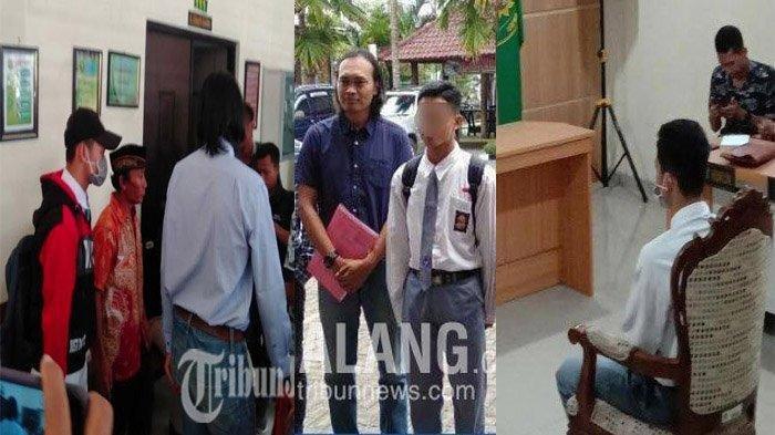 Siswa SMA di Malang yang Bunuh Begal Divonis Pembinaan  1 Tahun