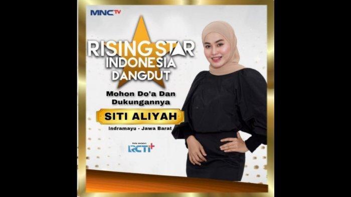 Siti Aliyah (21) menjadi perwakilan Kabupaten Indramayu dalam ajang Rising Star Dangdut Indonesia