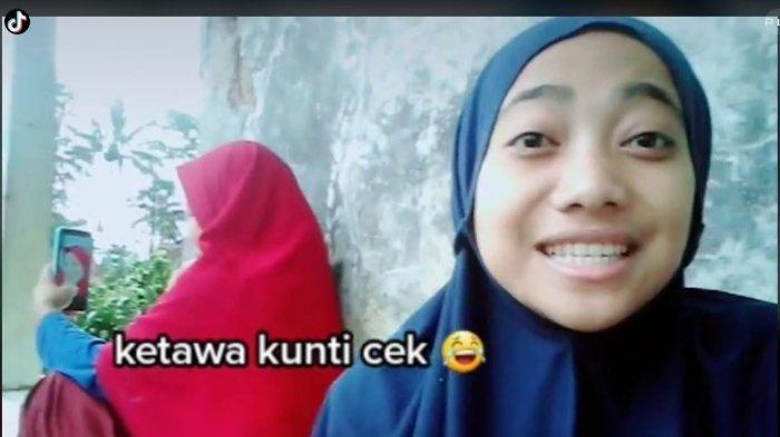 Viral di TikTok Gadis ini Tirukan Tawa Kuntilanak, Mengaku Pernah Dengar Suara Asli di Tengah Malam