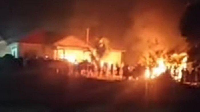 Buru Pelaku Pembakaran Mapolsek Candipuro di Lampung, Polisi Bantah Tuduhan Massa