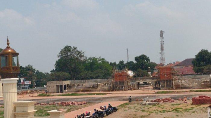 Revitalisasi Alun-alun Majalengka Bakal Rampung Akhir 2020