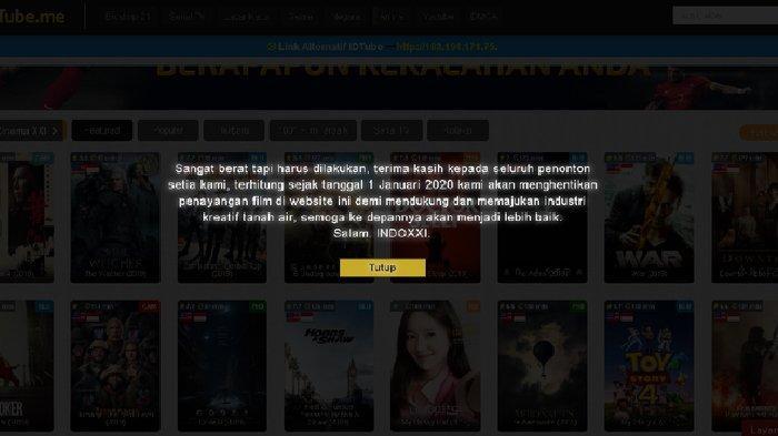 Situs IndoXXI Pamit, Anda Tak Perlu Khawatir, Ini Layanan Streaming Film yang Masih Bisa Diakses