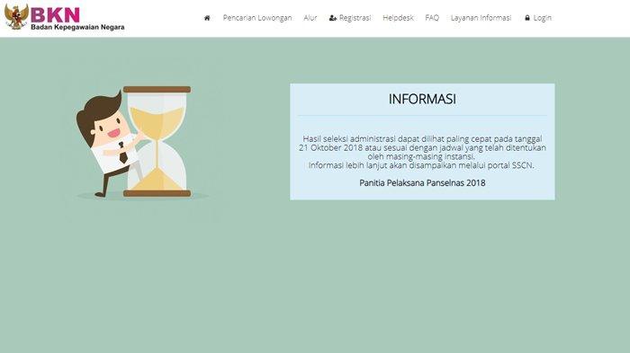 Contoh Surat Lamaran dan Pernyataan CPNS 2019 di Kemenkumham Sebelum Diunggah di sscn.bkn.go.id