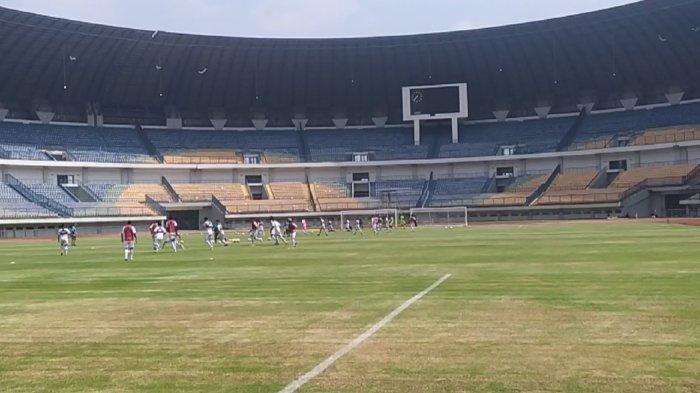 Skuat Persib Bandung Kembali Berlatih di GBLA, Persiapan Hadapi Musuh Bebuyutan