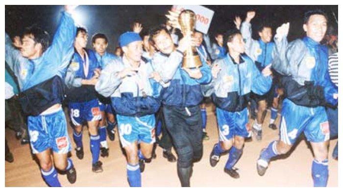 Hari Ini, Mengenang Putaran Pertama Liga Indonesia, Gol Pemain Ini Antar Persib Bandung Juara
