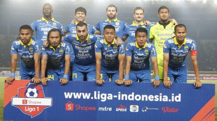 Starting Line Up Persib Bandung di 4 Laga Liga 1 2019 Selalu Berbeda, Ini Penjelasan Robert Alberts